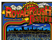 Royal Flush Festival Poster