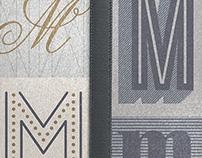 Monogram Bookjig Bookmarks