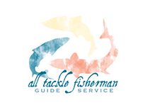 All Tackle Fisherman Logo, Business Cards & Hat