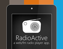 RadioActive, a web/fm radio player