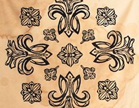 Woodcut on Textiles