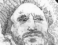 traditional drawing: portraits (b&w)