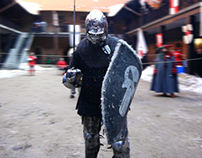 Knights' tournament in Nidzica