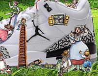 Trainer Ad Campaign - Nike Air Jordans