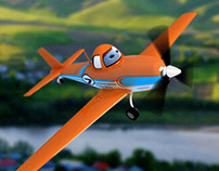 3dmax planes - dusty