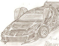 Hand Draw Cars Concepts