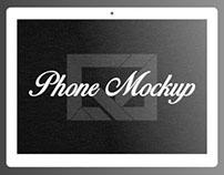 Phone Mockup (Minimal)
