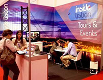 Exhibition Design - Inside Lisbon's stand at BTL