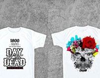 La Familia -Day of the Dead T's