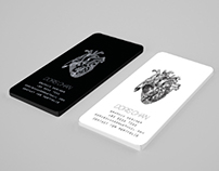 Diploma Project – Business Card That With Heart