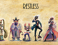 Restless - characters