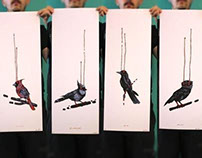 4Birds - Silkscreen Prints