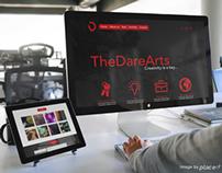 TheDareArts - webdesign