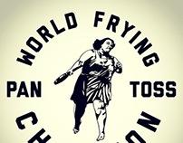 """World Frying Pan Toss Champion"" Tee"