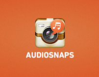 Design work I did as freelancer at AudioSnaps