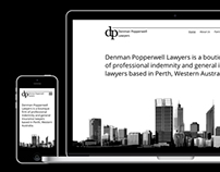 Denman Popperwell Lawyers Website