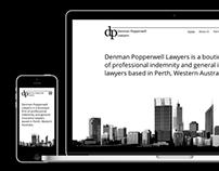 Denman Popperwell Lawyers Website