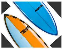 Webster Surf Boards Website