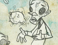 Zombie Dad Booklet