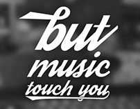 You can't touch music...