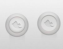 Push-Style Twitter Button