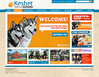 Keshet Kennels Web Site Design and Logos