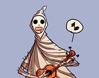 ghostboy concept sketches