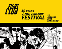 FIGTH CLUB / 15 YEARS ANNIVERSARY FESTIVAL