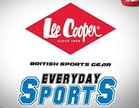 LEE COOPER product campaign