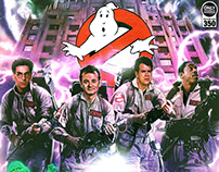 Official Ghostbusters 35th Anniversary Art