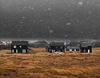 Black Houses in Hellnar - Iceland