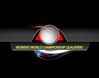 FIVB Volleyball Qualifiers Graphics 2014