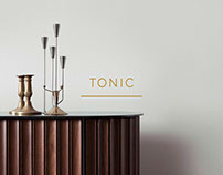 Tonic identity, collateral and website design