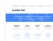 Almida pay, website
