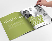 Vision of Success Indesign Template Brochure
