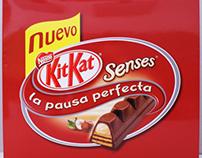 Kit Kat Senses Nestlé Chocolate Packaging