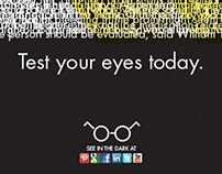 Guerrilla Advertising Project: Test Your Eyes Today
