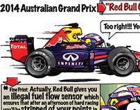 2014 F1 Cartoons