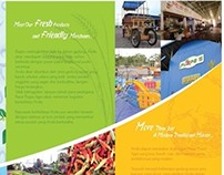 Brochure Design: Puspa Agro Wholesale Market