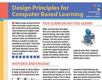 Design Principles for Computer Based Learning handout