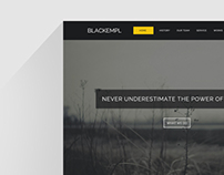 Blackempl Parallax One Page