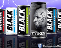 Black Energy Drinks (Mike Tyson endorsed) Press Ads