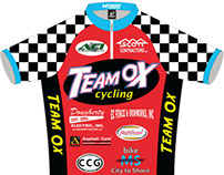 Team Ox Cycling Jersey