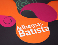 Brochure about Adhemas Batista