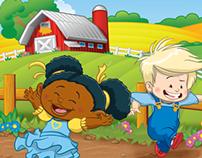 Toy apps - Children's Illustration