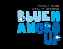 Blue Man Group Posters