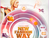 New Fashion Way Flyer Template