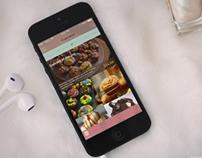 Cupcake app  concept (Free PSDs)