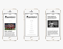 Sportellate.it · Identity and website.