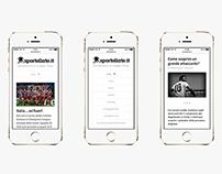 Sportellate.it · Identity and website.